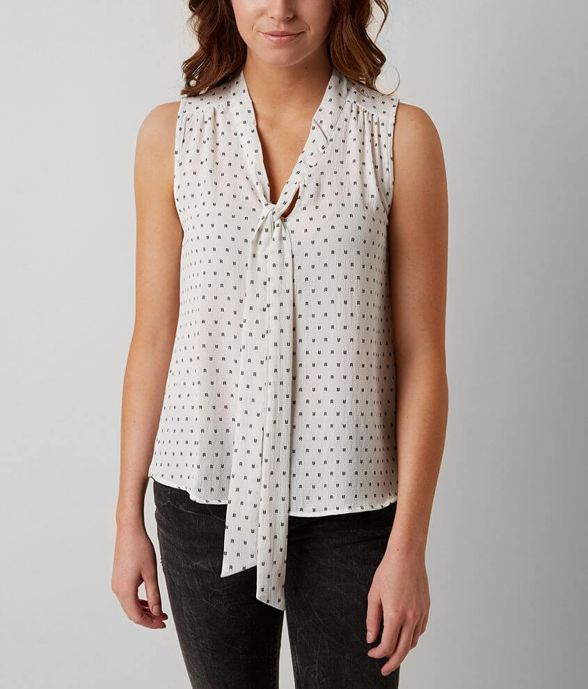Sweet Wanderer Printed Top front view