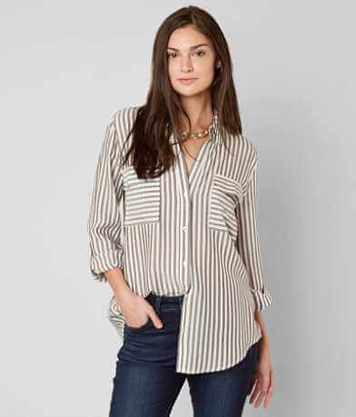 Sweet Wanderer Striped Shirt