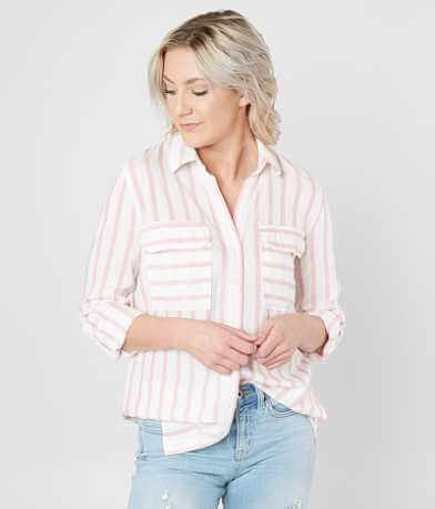 Mine Striped Woven Shirt