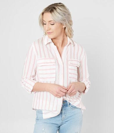 Mine Striped Woven Shirt