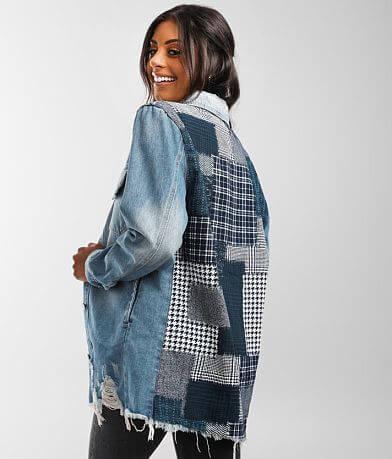 BKE Oversized Denim Jacket