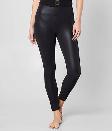 Boom Boom Faux Leather Legging