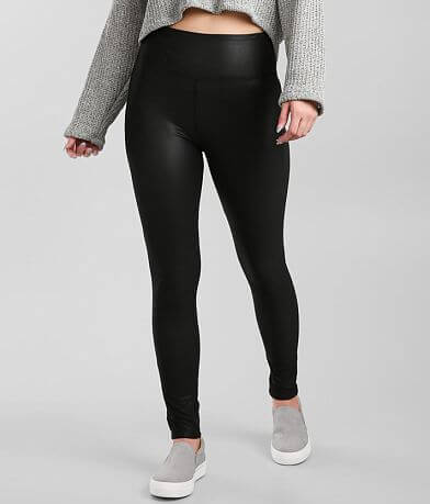 BKE Ultra High Rise Faux Leather Legging
