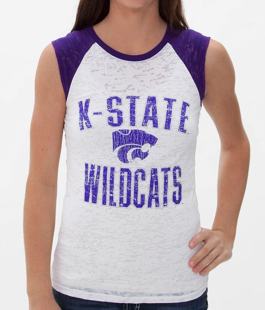 Blue 84 Kansas State Sleeveless T-Shirt front view