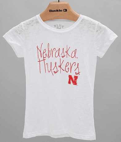 Girls - Blue 84 Nebraska Huskers T-Shirt