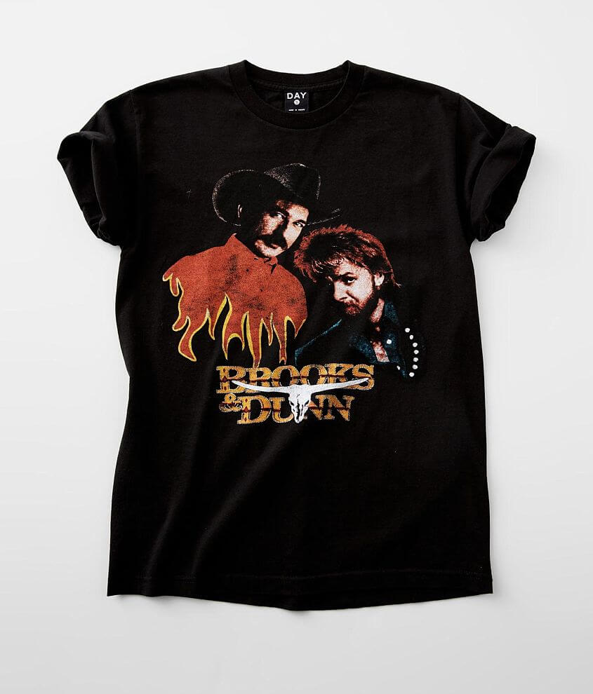 DAY Brooks & Dunn Concert Band T-Shirt front view