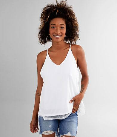 Daytrip Solid Knit Tank Top