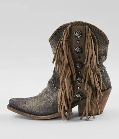 Liberty Black Susannah Leather Western Boot