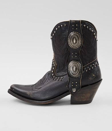 Liberty Black Shirley Leather Western Boot