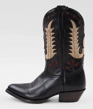 Liberty Black Sherry Toscano Leather Western Boot