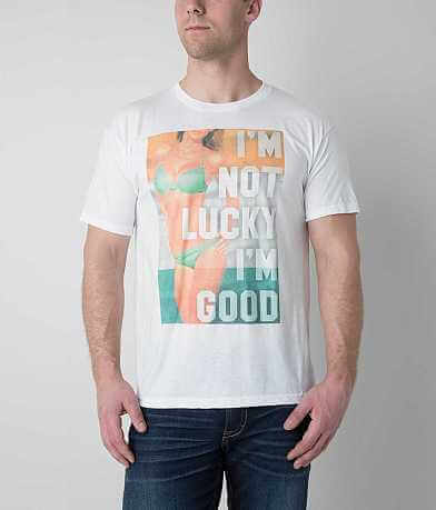 Bowery Supply Not Lucky I'm Good T-Shirt
