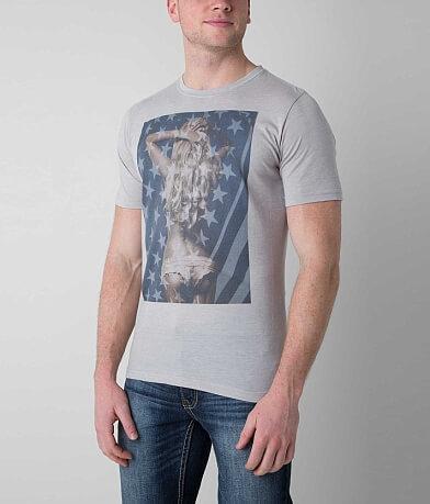 Bowery Supply Flag Girl T-Shirt