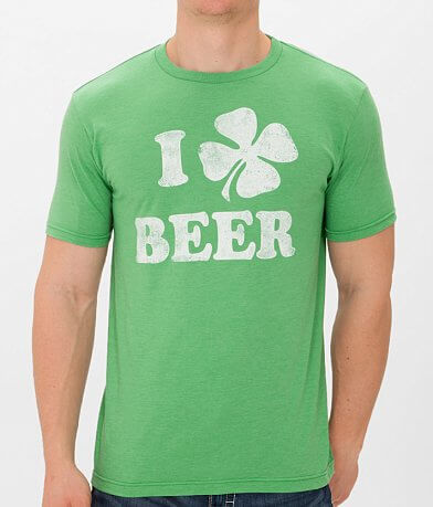 Bowery Supply I Shamrock Beer T-Shirt
