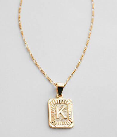 Bracha® K Initial Necklace