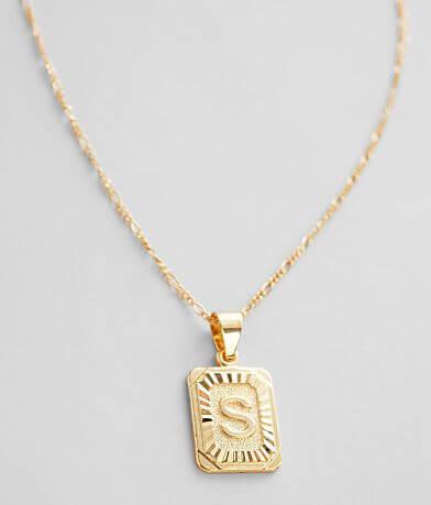 Bracha® S Initial Necklace