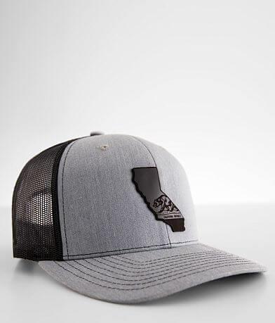 Branded Bills California Flag Trucker Hat