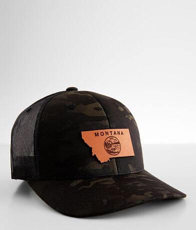 Branded Bills Montana Camo Trucker Hat
