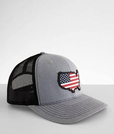 Branded Bills USA Patriot Trucker Hat