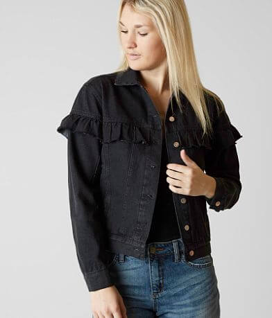 Gilded Intent Ruffle Jacket