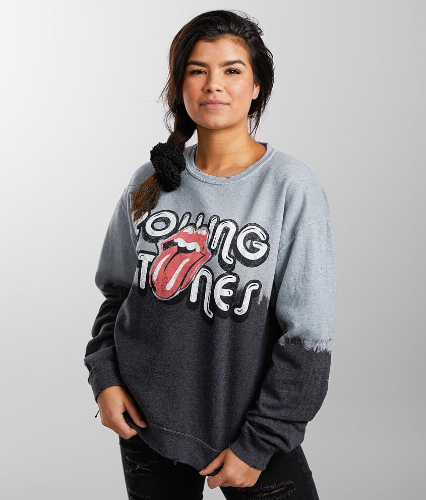 The Rolling Stones Band Sweatshirt front view