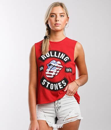 The Rolling Stones 1978 Tour Band Tank Top
