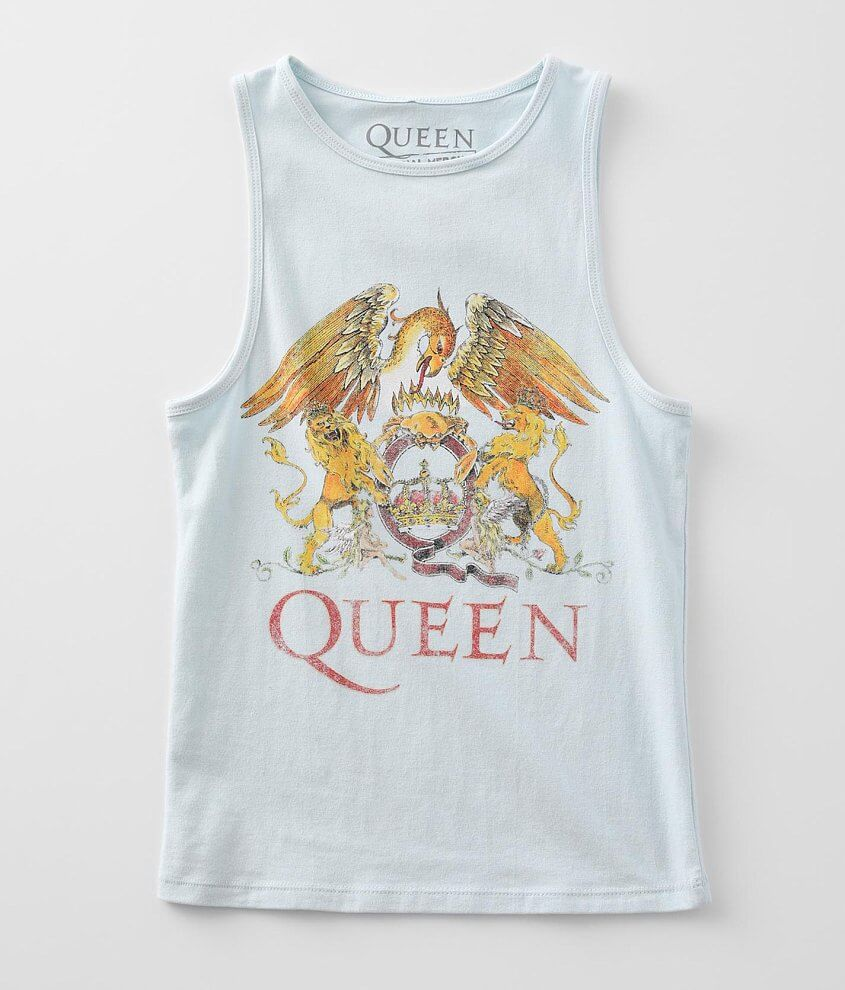 Queen Greatest Hits Band Tank Top front view