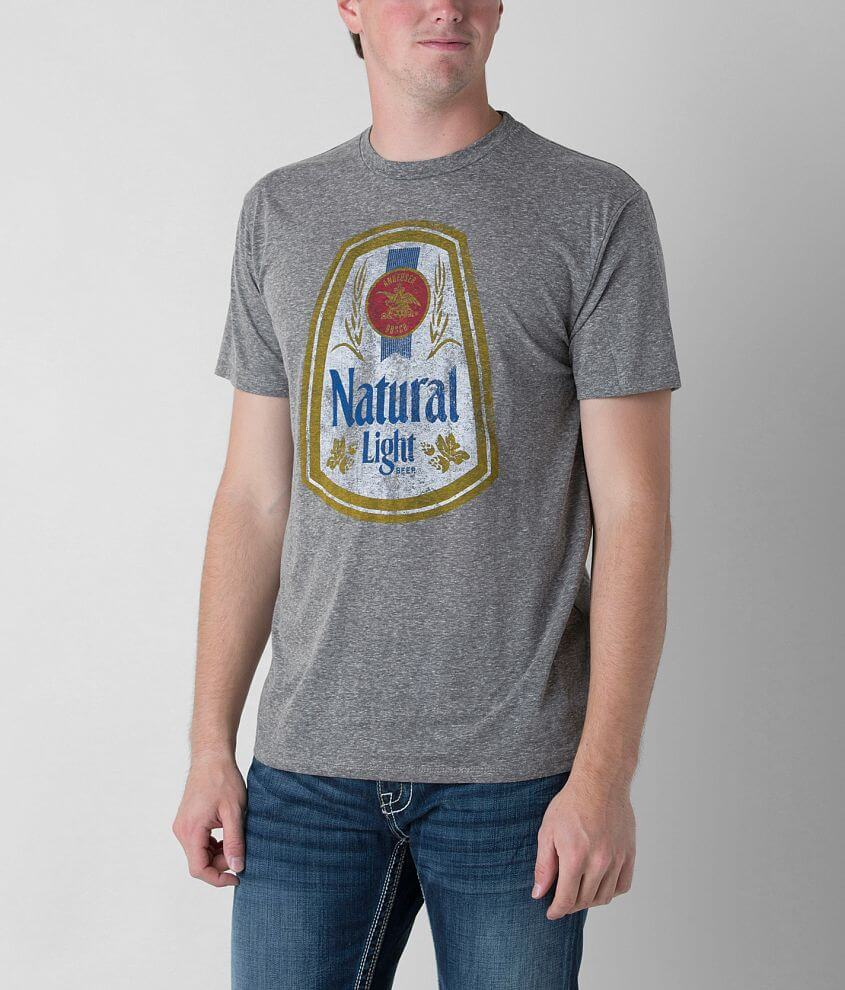 Brew City Vintage Natural Light T-Shirt front view