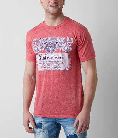 Brew City Budweiser Label T-Shirt