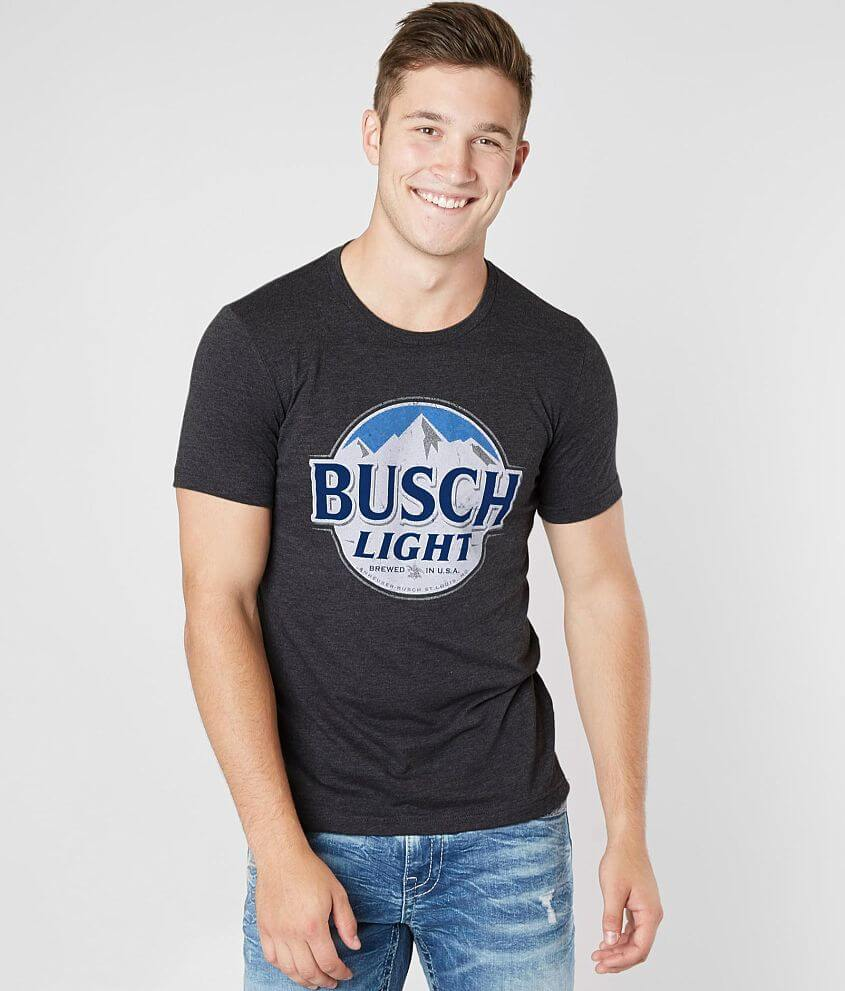 Brew City Busch Light T-Shirt - Men's T-Shirts in Black