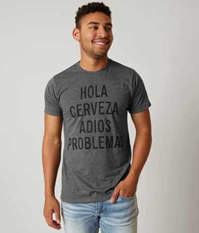 Brew City Hola Cerveza Adios Promblemas T-Shirt