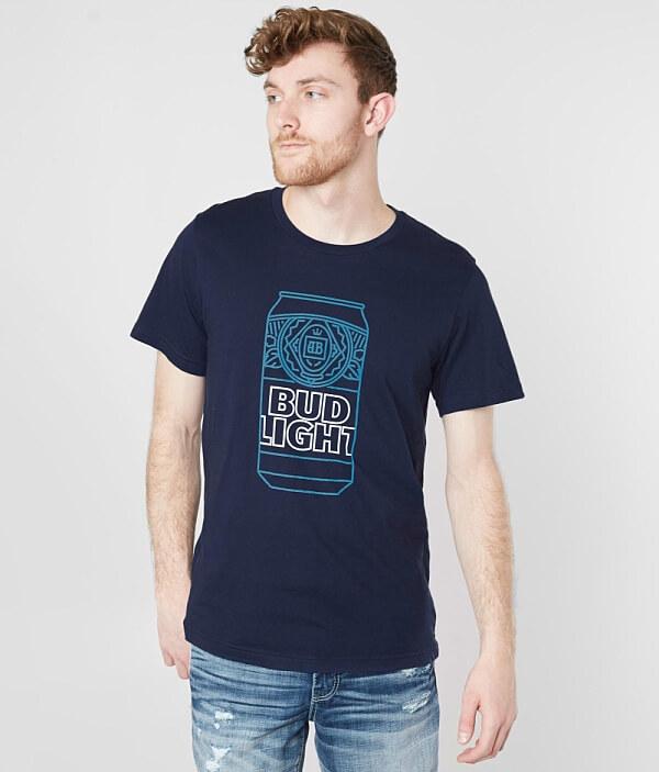 Brew Bud City T Shirt Light Can HxHrgw