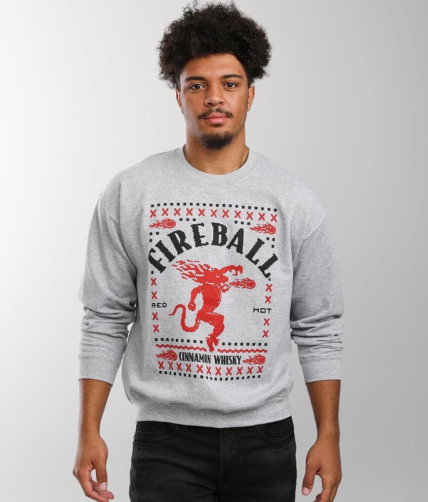 Brew City Fireball® Ugly Sweatshirt front view