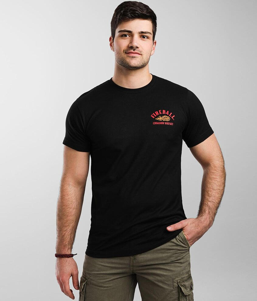 Brew City Fireball® Whisky T-Shirt front view