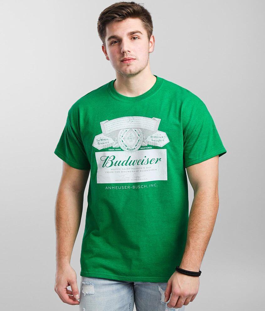 Brew City Budweiser® St. Pats T-Shirt front view