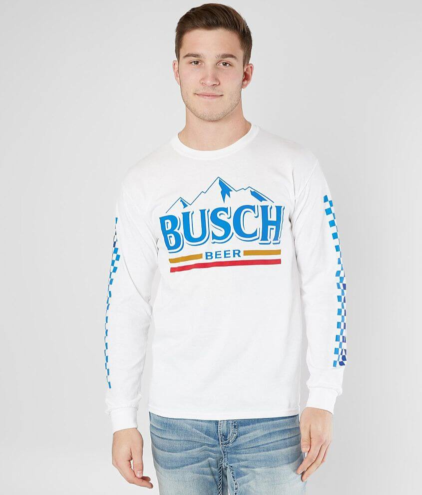 4b81940cc Brew City Busch Beer T-Shirt - Men's T-Shirts in White | Buckle