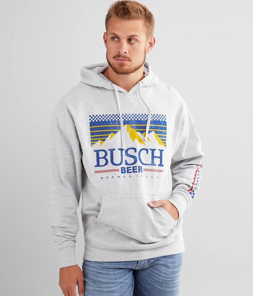 Brew City Busch® Beer Hooded Sweatshirt front view