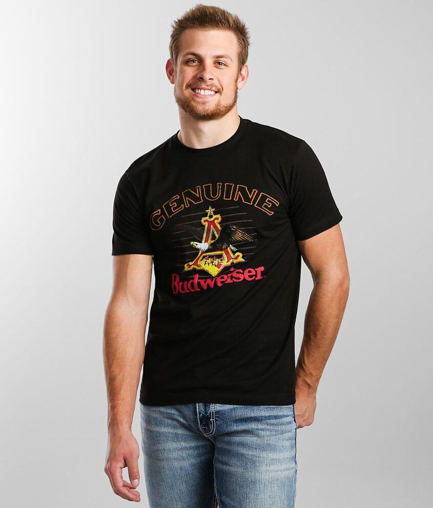 Brew City Budweiser® Genuine Beer T-Shirt front view