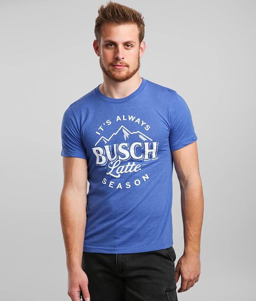 Brew City Busch Latte Season Beer T-Shirt front view