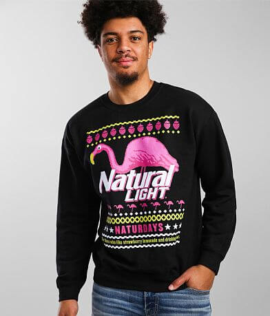 Brew City Natural Light® Christmas Sweatshirt