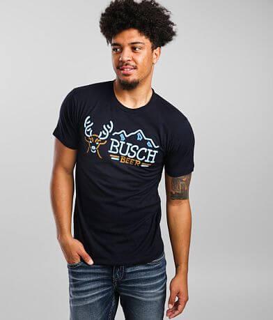 Brew City Busch Beer Neon Light T-Shirt