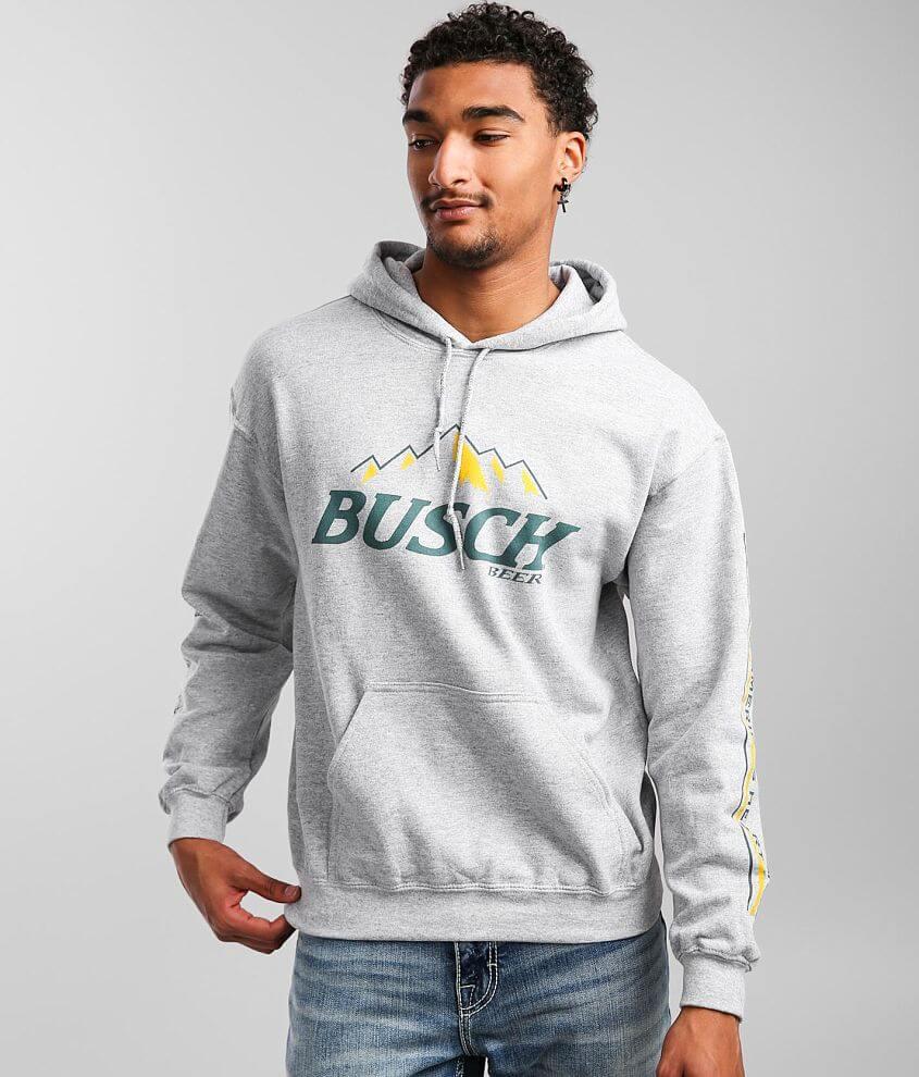 Brew City Busch® Corn Field Hooded Sweatshirt front view