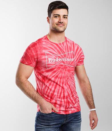 Brew City Budweiser Tie Dye T-Shirt