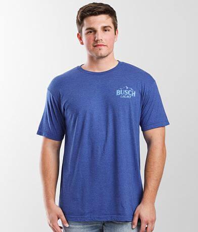 Brew City Busch Light Beer Fishing T-Shirt