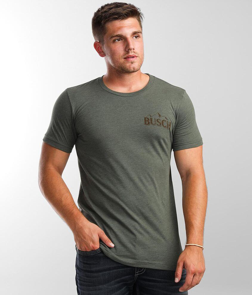 Brew City Busch Beer T-Shirt front view