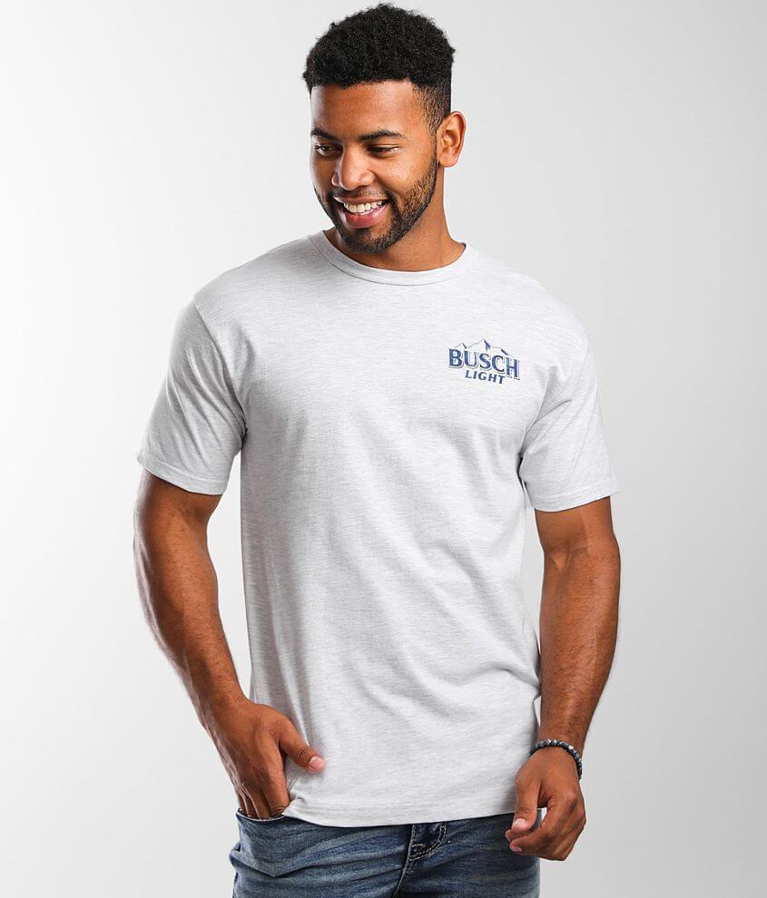 Brew City Busch Light Fishing T-Shirt front view
