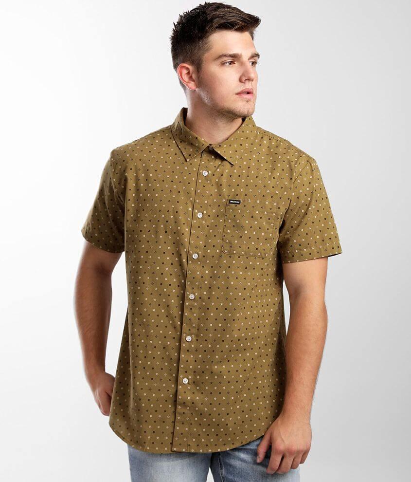 Brixton Charter Woven Shirt front view