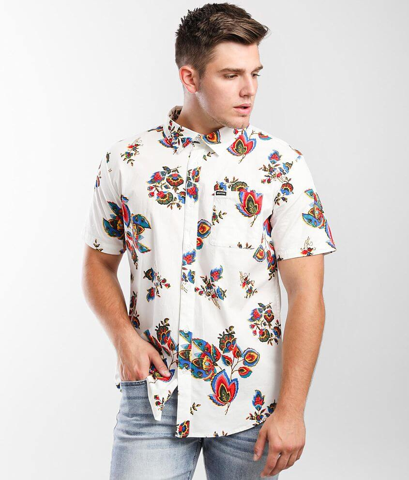 Brixton Charter Floral Stretch Shirt front view
