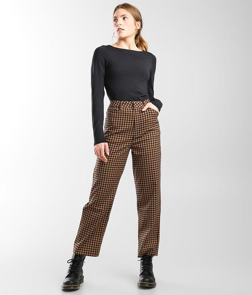 Brixton Thurston Gingham Trouser Stretch Pant front view