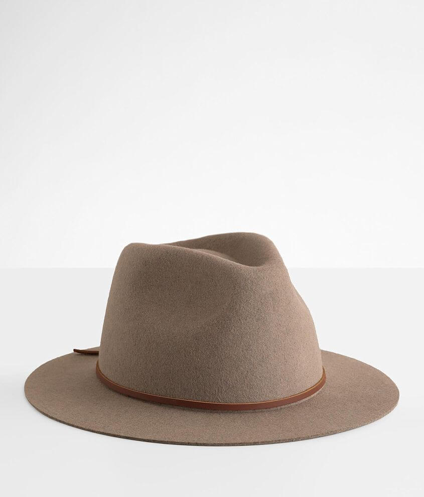 Brixton Wesley Fedora Hat front view