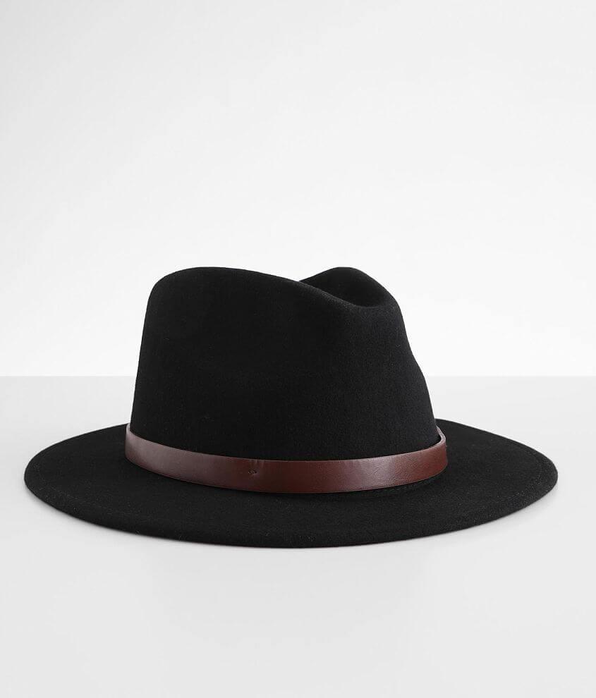 Brixton Messer Felt Fedora Hat front view